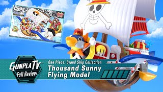 One Piece Grand Ship Collection Thousand Sunny Flying Model | Gunpla TV