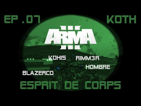 [CZ/SK] Arma3 King of The Hill #07: Esprit de Corps