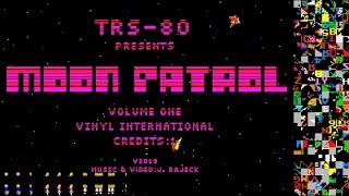 TRS-80 • Moon Patrol