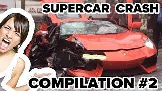 Supercars Crashes / Fails Compilation #2 (2018)