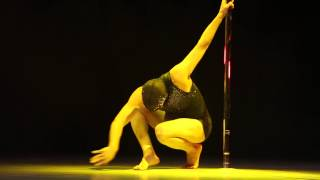 Felipe Mendoza Perez CHILE 2nd Placed MALE World Pole Dance Championships 2015 - Beijing, China