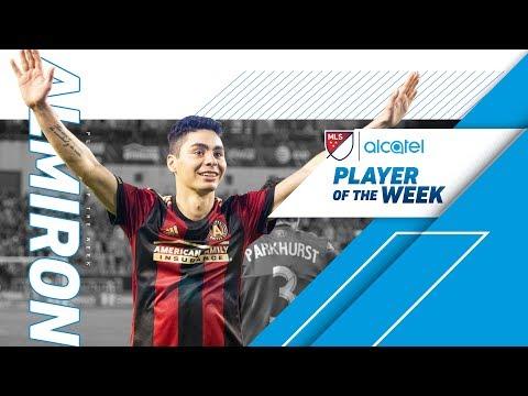 Alcatel Player of the Week, Week 12   Miguel Almirón