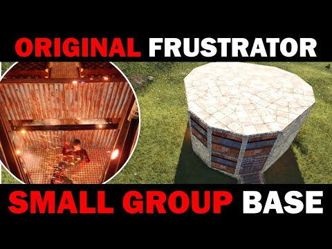 Tough Small Group Base | Double-Stacked, Unlootable, Trapped Loot Rooms | Rust Building 3.2