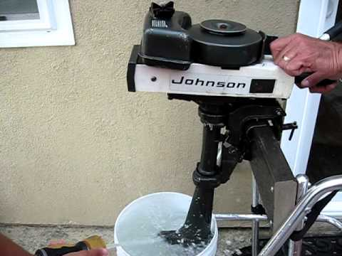 Johnson 1.5 hp outboard - YouTube