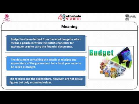 Financial  Administration:  Budget-Principles,  Types,  Preparation,  Enactment and Execution