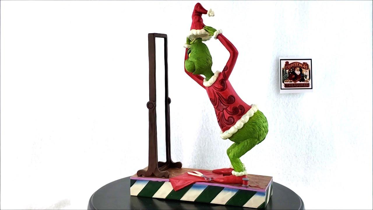 Jim Shore Grinch Dressing In Santa Suit 6006569 Youtube
