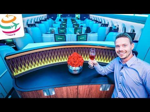 Qatar Airways Business Class A350 (ENG) | GlobalTraveler.TV