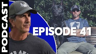 Mike Ritland Navy Seal Dogs  Warrior Dog Foundation  Podcast Episode 41