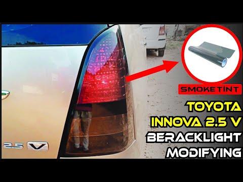 Innova Tail Lights Modifying 2019 |  Smoke Tint On Toyota Innova Break Light | Modify Stickers