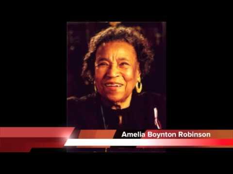 Amelia Boynton Robinson address to UFAA Public Assembly