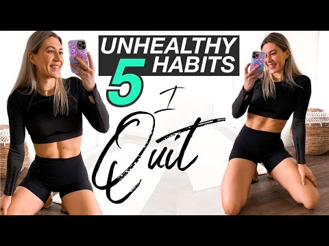 Why I QUIT These 5 Unhealthy Habits!
