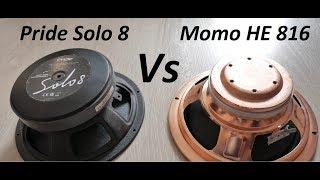 Pride Solo 8 vs Momo HE 816 of Ural PT 2.1200 F