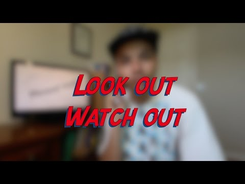 Look out / Watch out - W3D7 - Daily Phrasal Verbs - Learn English online free video lessons