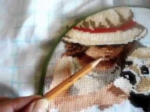 Вышивка риолис сладкоежки