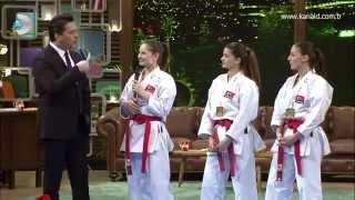 Avrupa Şampiyonu Türkiye Kadın Kata Milli Takımı Beyaz Show