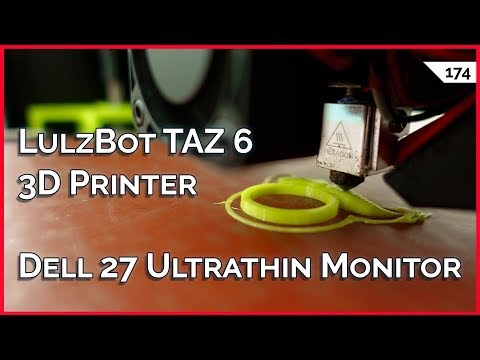 "LulzBot TAZ 6 3D Printer Review, Ultrathin Dell 27"" Monitor, 2FA Backup Codes, 1.1.1.1 vs 9.9.9.9"