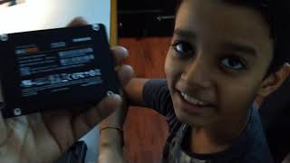Unboxing Samsung 860 Evo 250 2.5 inch Sata III internal SSD MZ -76E250BW by Parth(itsrealparth)