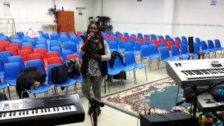"""Wonder God Sonnie Badu """"Rehearsal"""" @AOG T.E.C"""