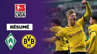 VIDEO: Bundesliga - Dortmund tranquille grâce à Zagadou et Haaland