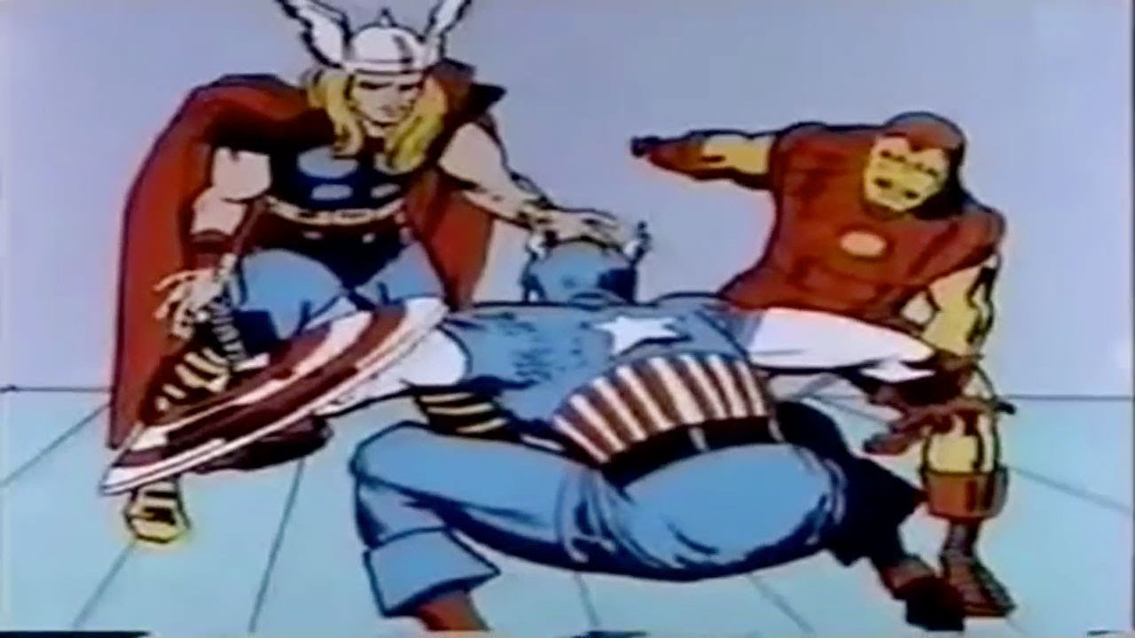 Cartoon Characters 1960s 1970s : The avengers s animation shot remake youtube