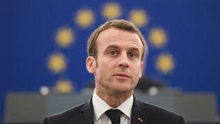 REPLAY - Emmanuel Macron s''exprime devant le Parlement européen