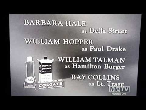 "The Colgate-Palmolive Company presents the closing credits of ""Perry Mason"""