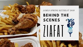Jamia Spring Retreat 2018: Ziafat - Behind the scenes