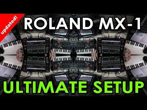 Roland MX-1 Ultimate Setup - Ableton Live updated!