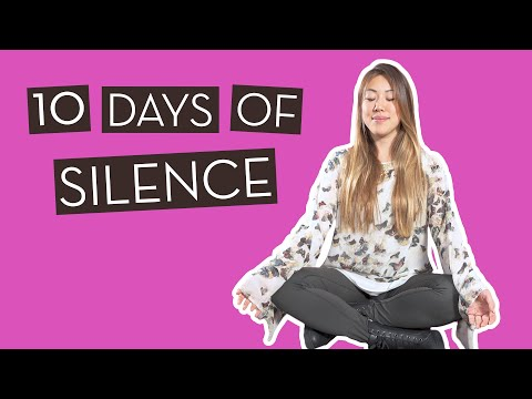 10 Days of Silence!? Our Experience at a Silent…}