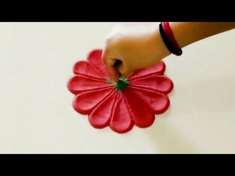 Very Attractive rangoli for festivals | rangoli designs with colours | Rangoli by Anitha