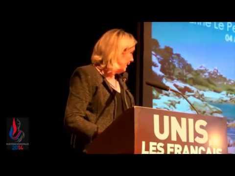 Chanson anti-FN de Yannick Noah, réaction de Marine Le Pen !
