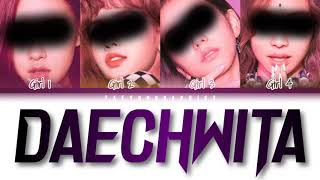 [YOUR GIRL GROUP] (4 Members) 'DAECHWITA' (Han/Rom/Eng) (Cover by Julles)