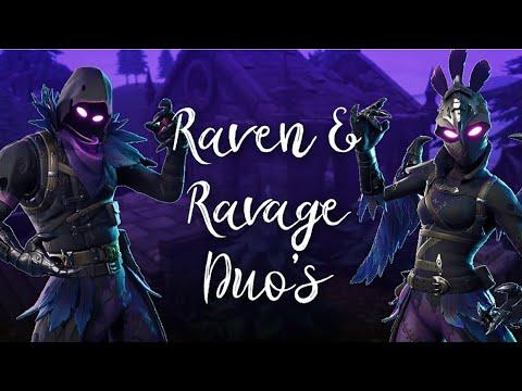 raven and ravage fortnite