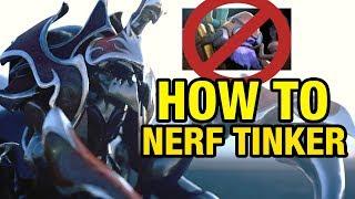 HOW TO NERF TINKER - Draskyl Plays Nyx Assassin - Dota 2