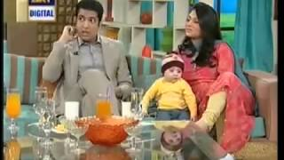 husband and wife both are news anchor iqrar ul hassan qurat ulain iqrar