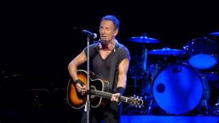 Bruce Springsteen - Thunder Road (acoustic) - Brisbane 26 February 2014