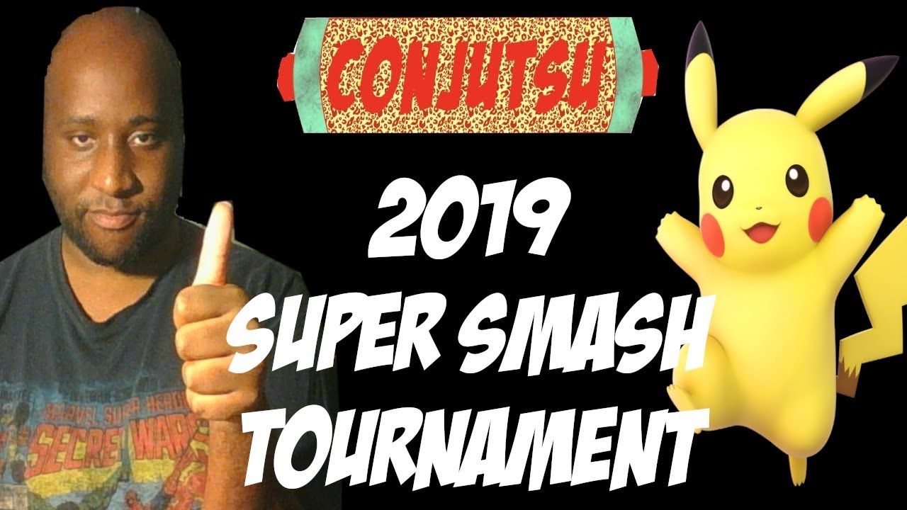 AnjimPlays In Conjutsu 2019 Super Smash Bros Tournament