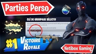 🔴 LIVE FORTNITE PART PERSO 5 FIGHTING ROOM LIVE BIRTHDAY CODE: macaque