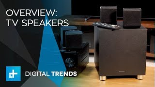 Home Theater Solutions - Better TV Speakers