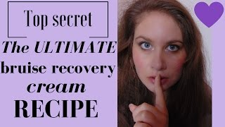 The ULTIMATE bruise recovery cream