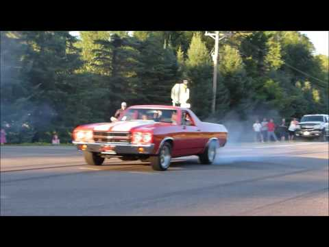 BURNOUTS- 2016-Northern Cruisers Car Club- BURNOUT-Leaving Car Show