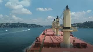 My travel and work(bosphorus strait 🇹🇷🦃