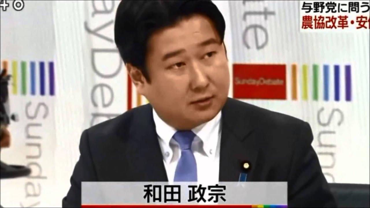 NHK日曜討論 次世代の党 和田政...