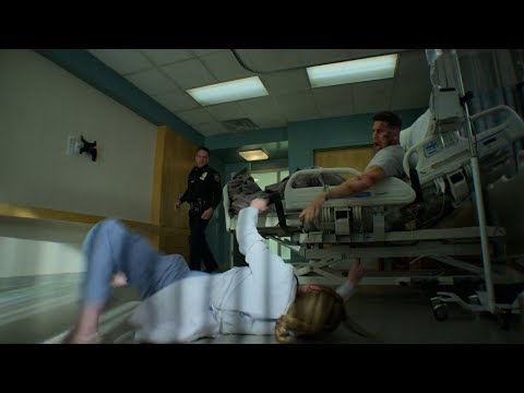 Marvel's The Punisher Season 2 Police attacks Frank and Amy in hospital [1080p]