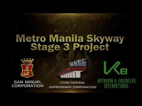 Metro Manila Skyway Stage 3 Design