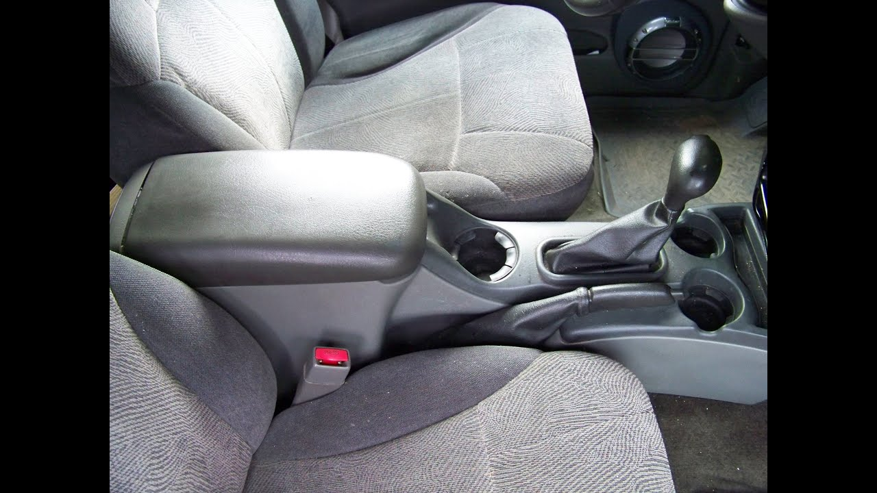 hight resolution of chevy trailblazer center console remove reinstall and repair