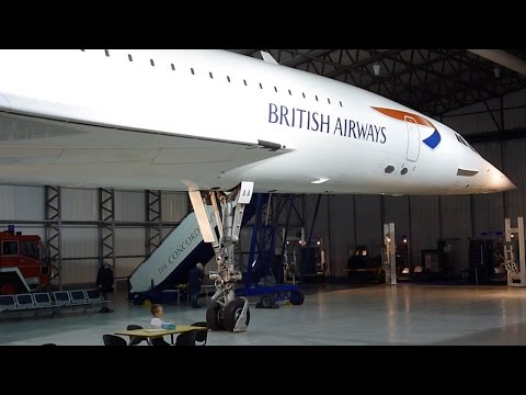 Bae Concorde Aircraft at Edinburgh Museum