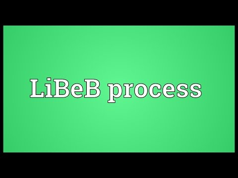 LiBeB process Meaning