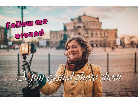 Breathtaking beauty Dresden.... and me - a fun photo shoot | Behind the scene | Travel Vlog