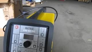Аппарат аргонно-дуговой сварки Matrix AC/DC(Аппарат для аргонно-дуговой сварки предназначен для сварки в среде аргона неплавящимся электродом с ручно..., 2015-10-27T13:06:37.000Z)